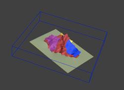 3D Zones topo